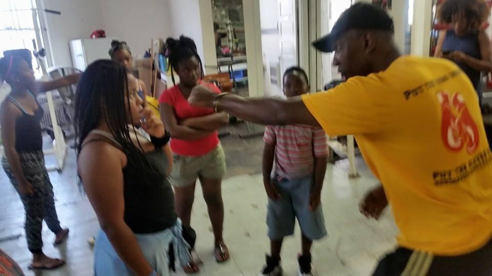 Umar Boxing Demo 2015