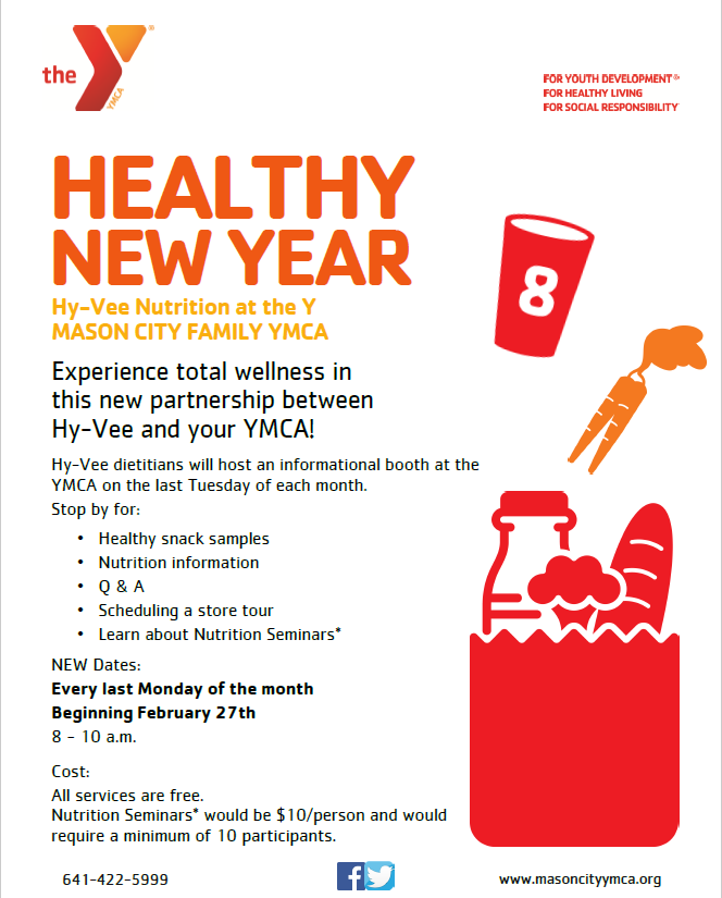 Hy-Vee Nutritionist at the YMCA