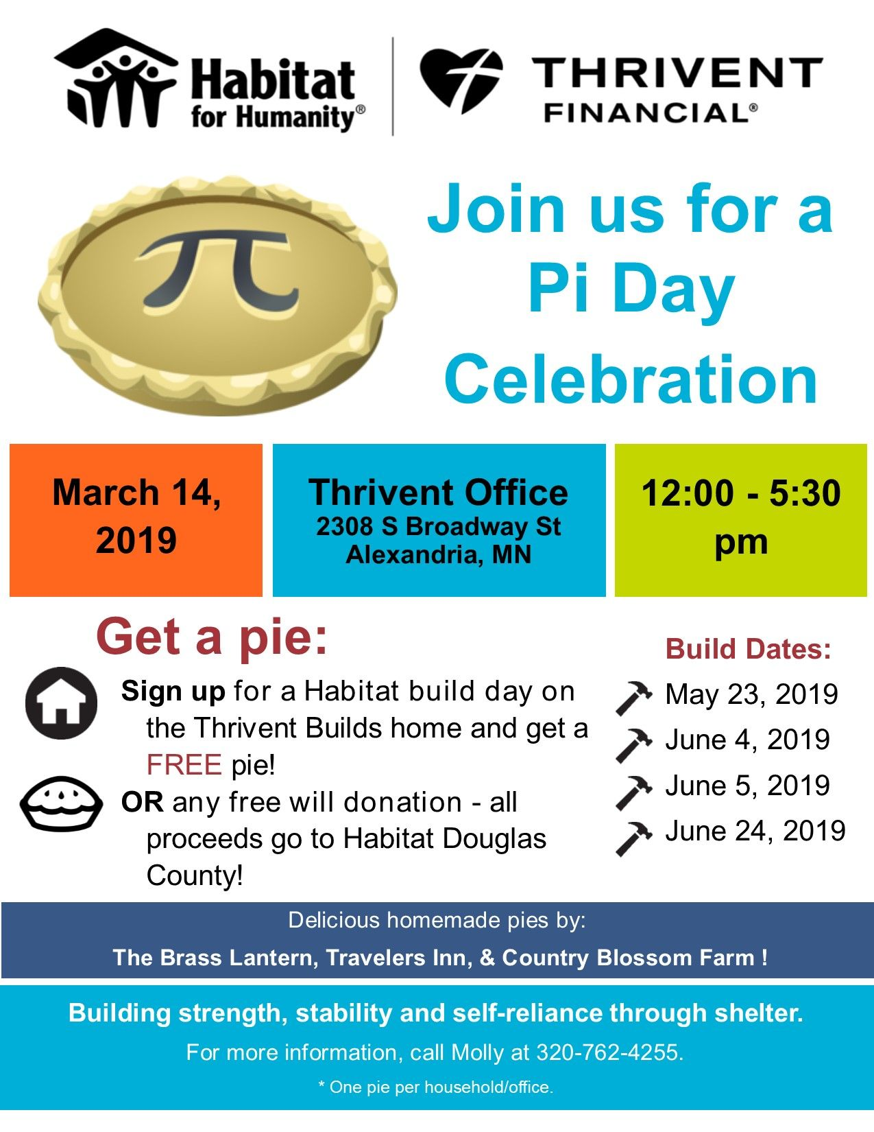 Join Us for a Pi Day Celebration