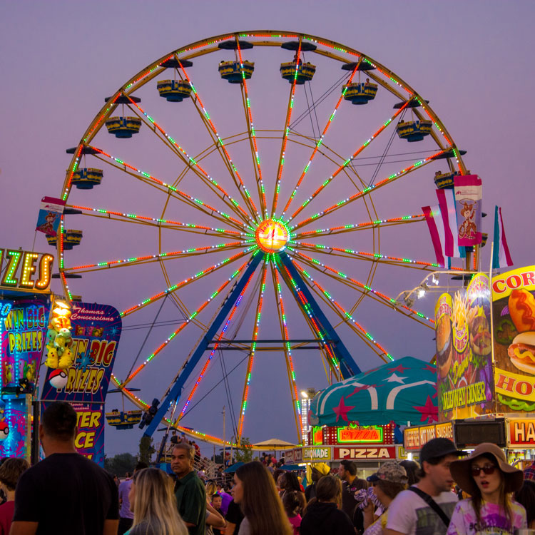 Celebrate the 150th anniversary of the Nebraska State Fair in Grand Island this summer!
