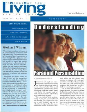 Psychology for Living Winter 2005