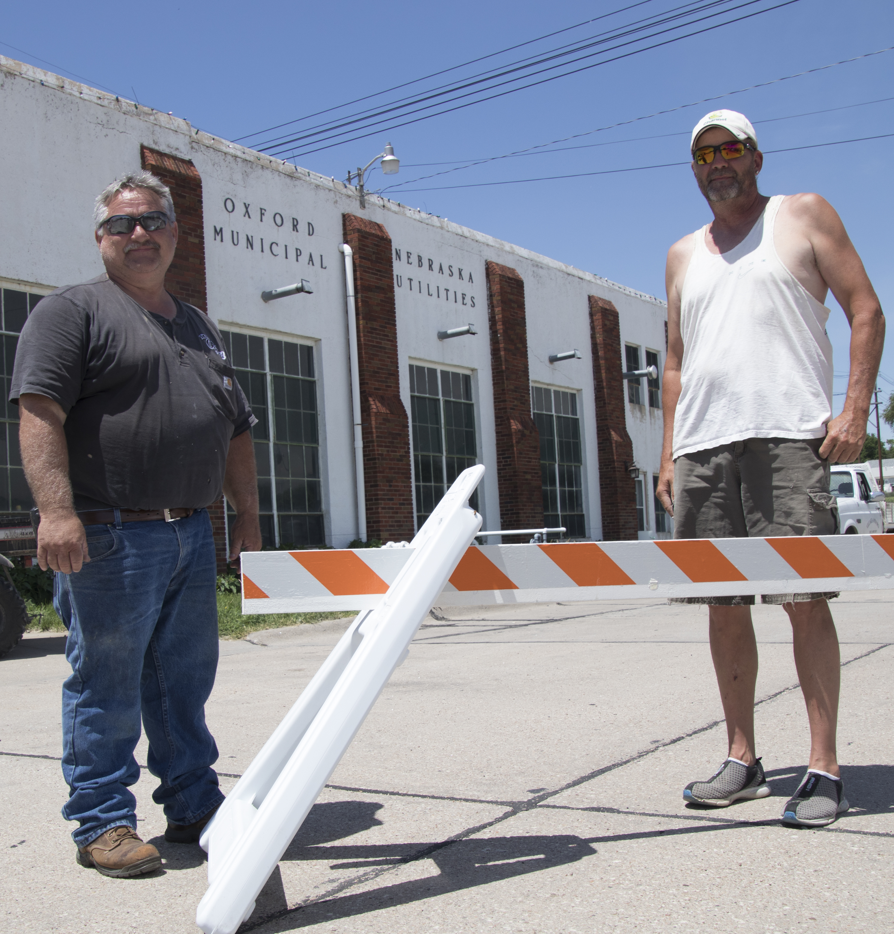 Oxford using new barricades from Lean on LARM grant