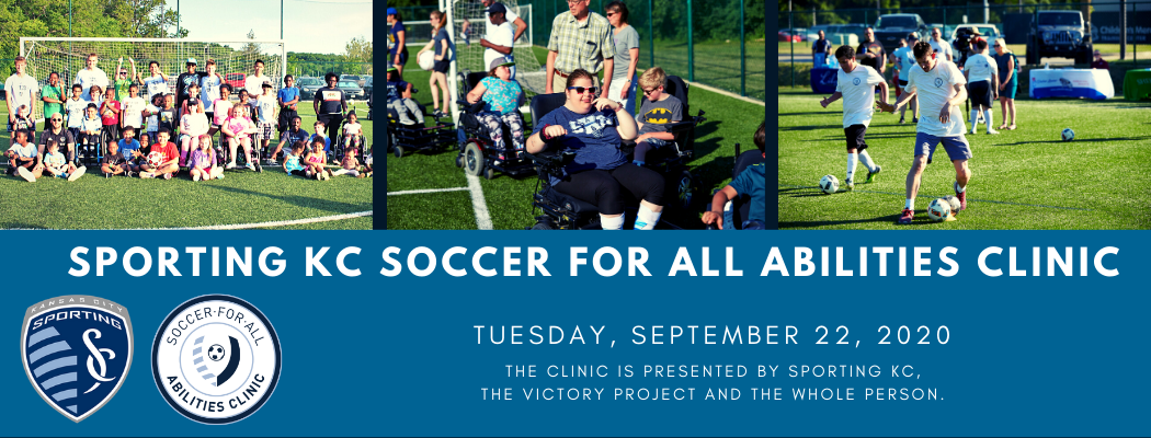 Sporting KC Soccer For All Abilities Clinic