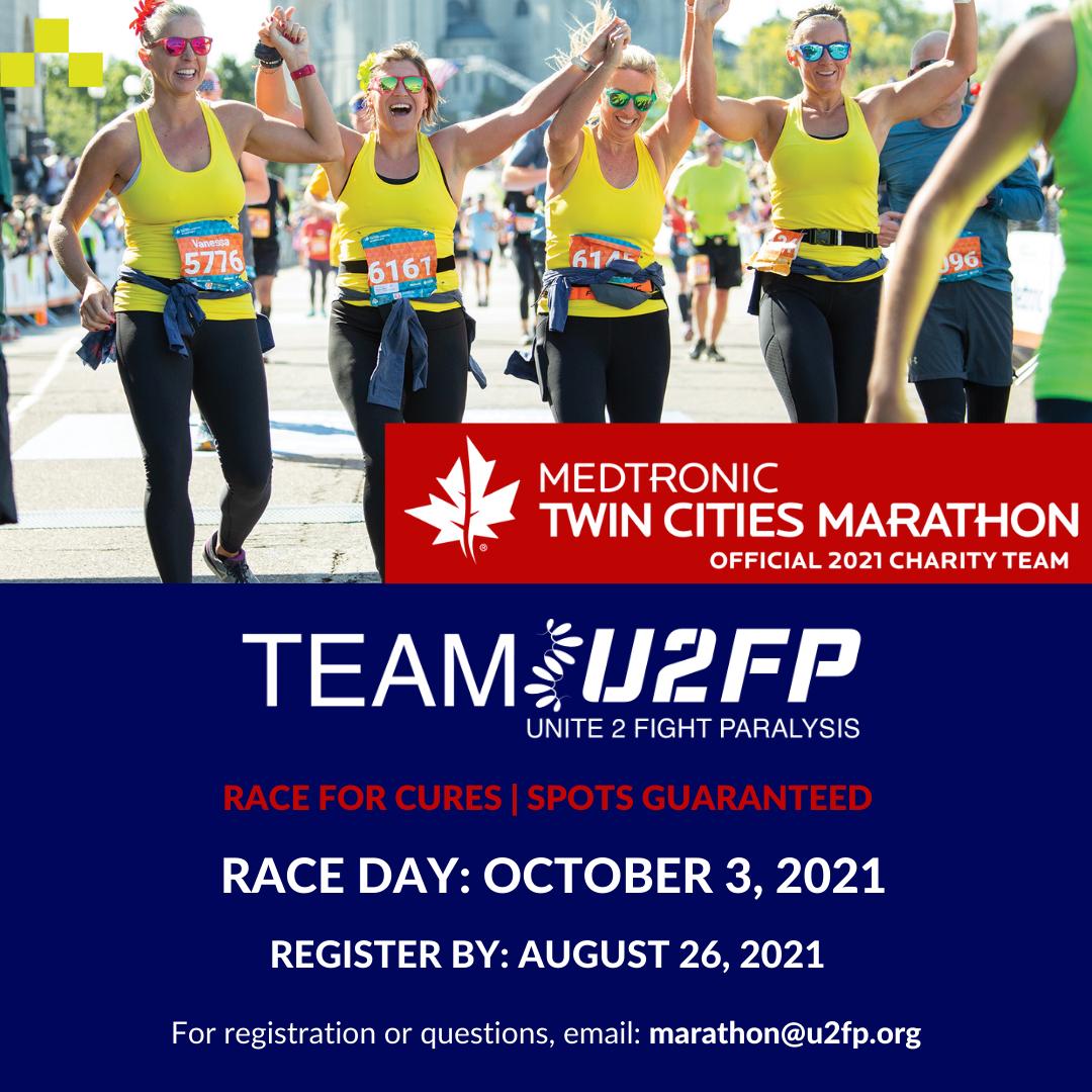 Only 2 Spots Left in Twin Cities Marathon!