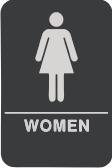 05 Womens Bathroom Sign