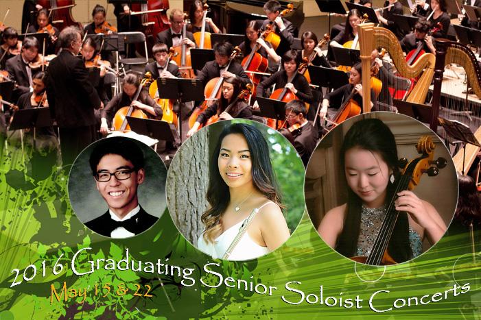 2016 Graduating Senior Soloist Concerts