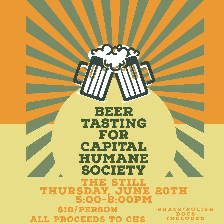 Beer Tasting for Capital Humane Society