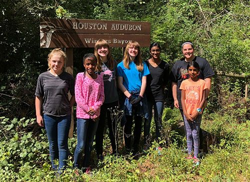 Girl Scouts at Winters Bayou