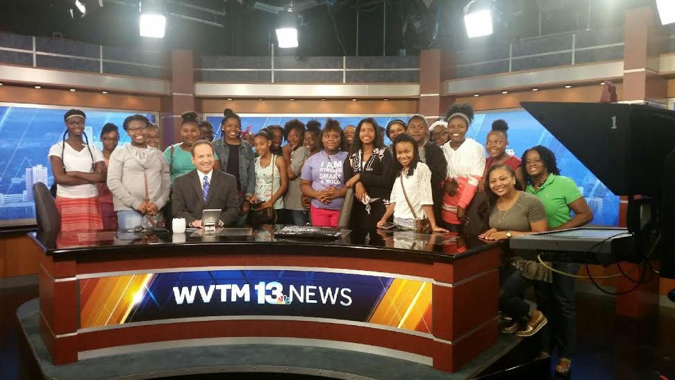 Girls Tour WVTM-13 News