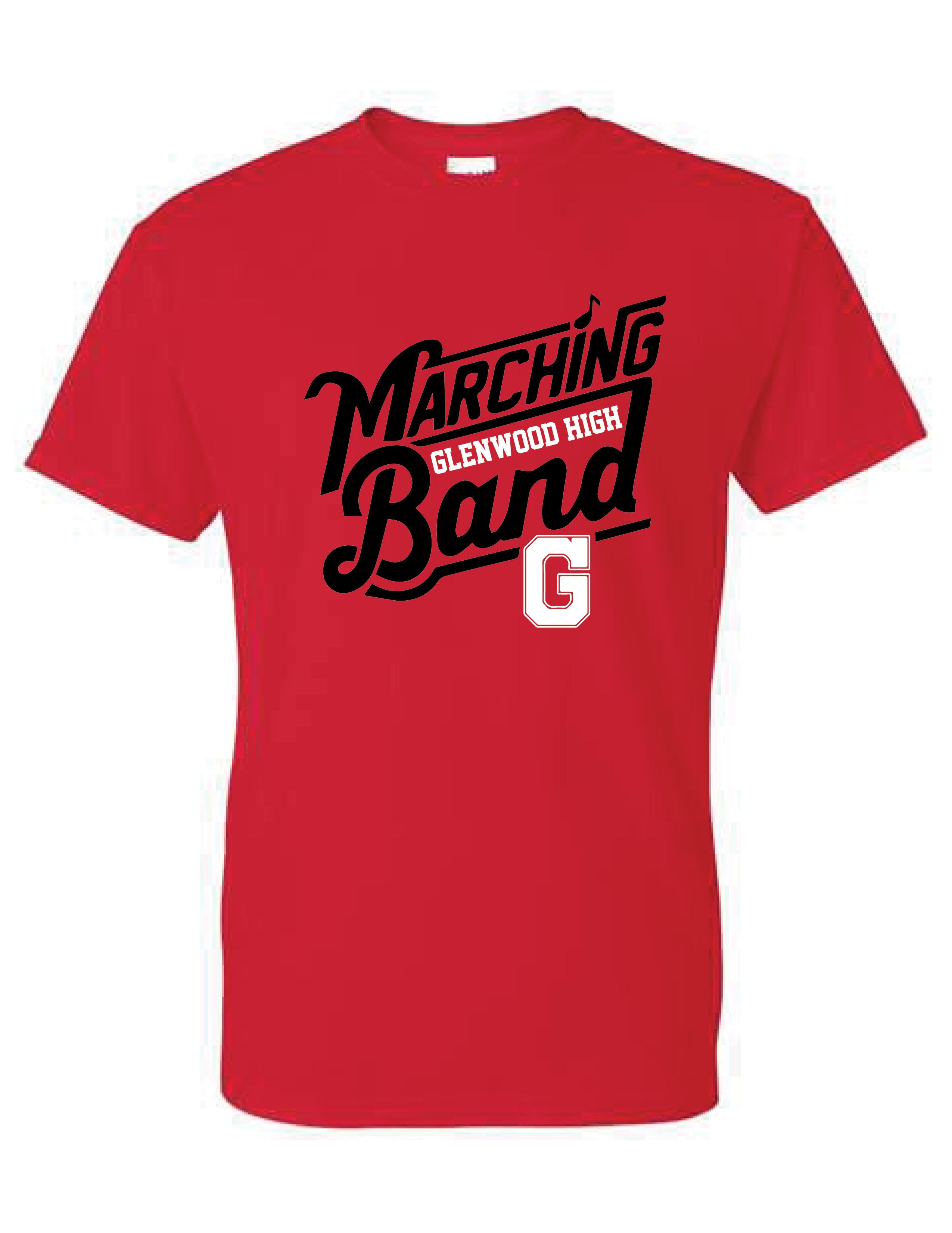 Glenwood Marching Band - Short Sleeve