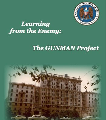 1984: GUNMAN Project found typewriter implants in U.S. Embassy in Moscow.