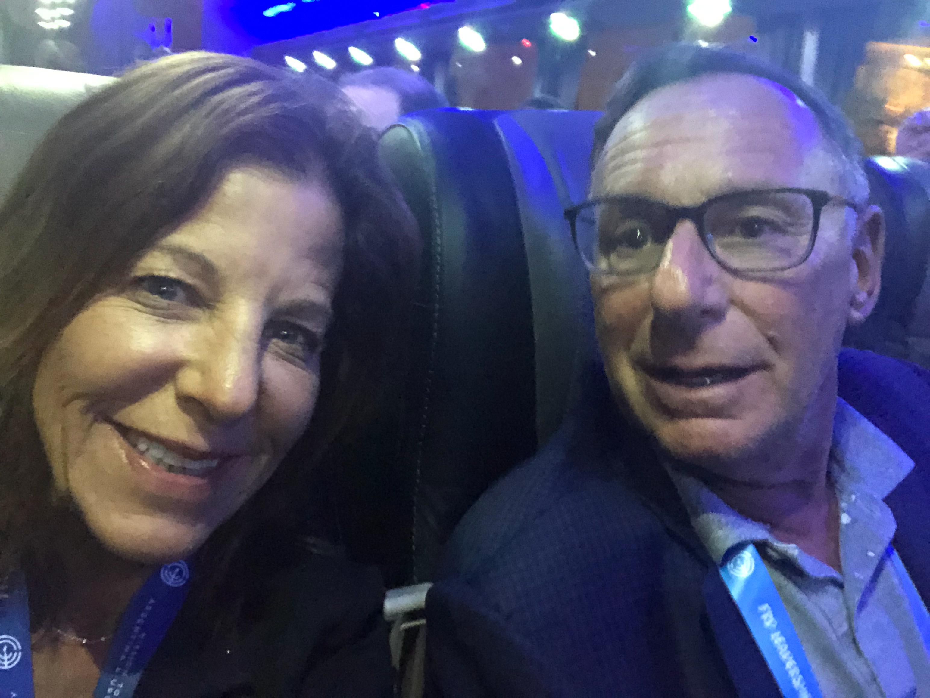 Wendy & Richard takeoff!