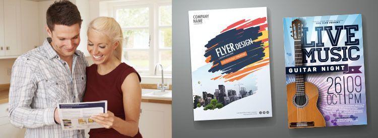 Flyer Printing - Visalia, Tulare, Hanford, Three Rivers