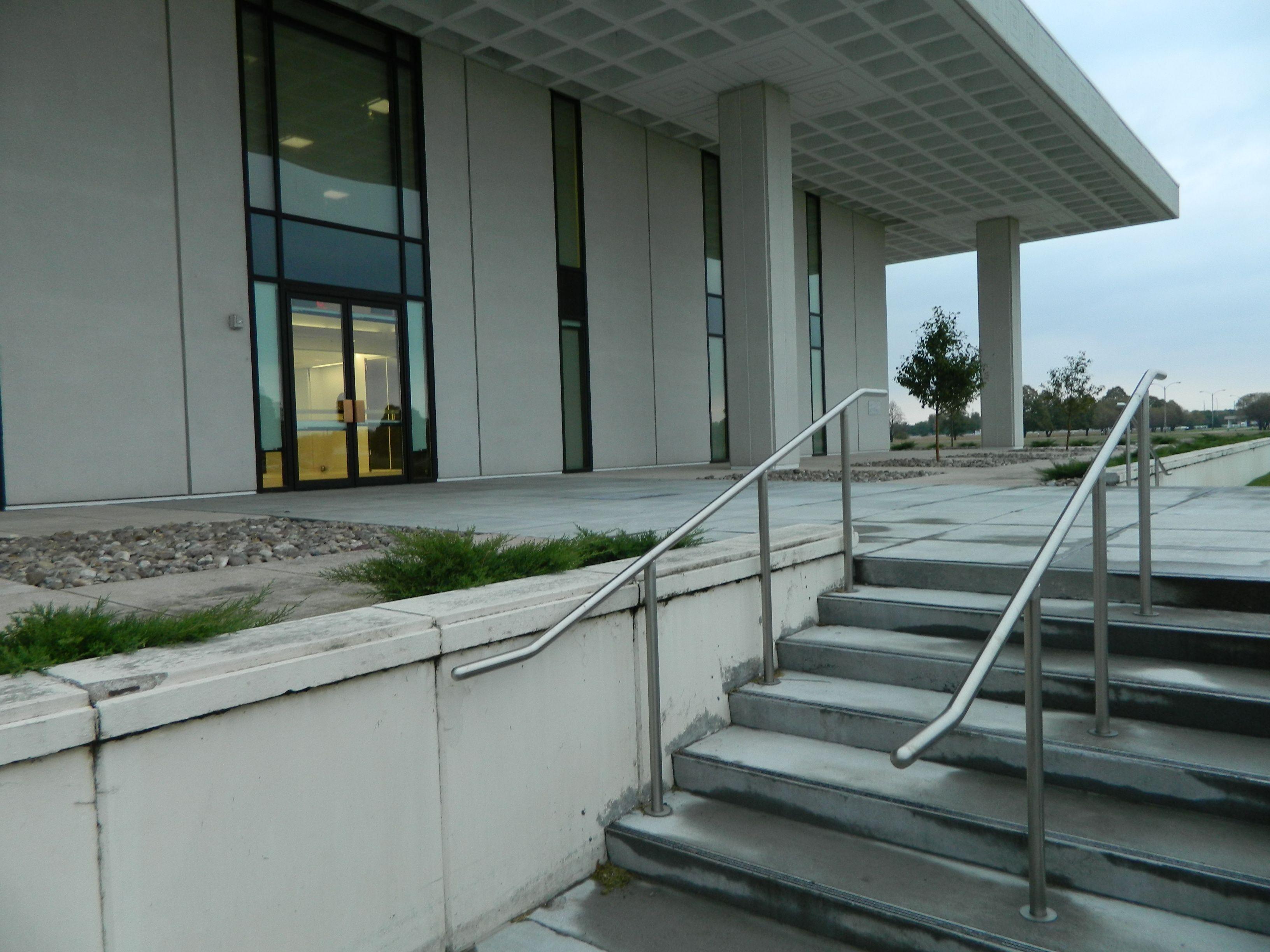Eihusen Foundation Portico Stairs