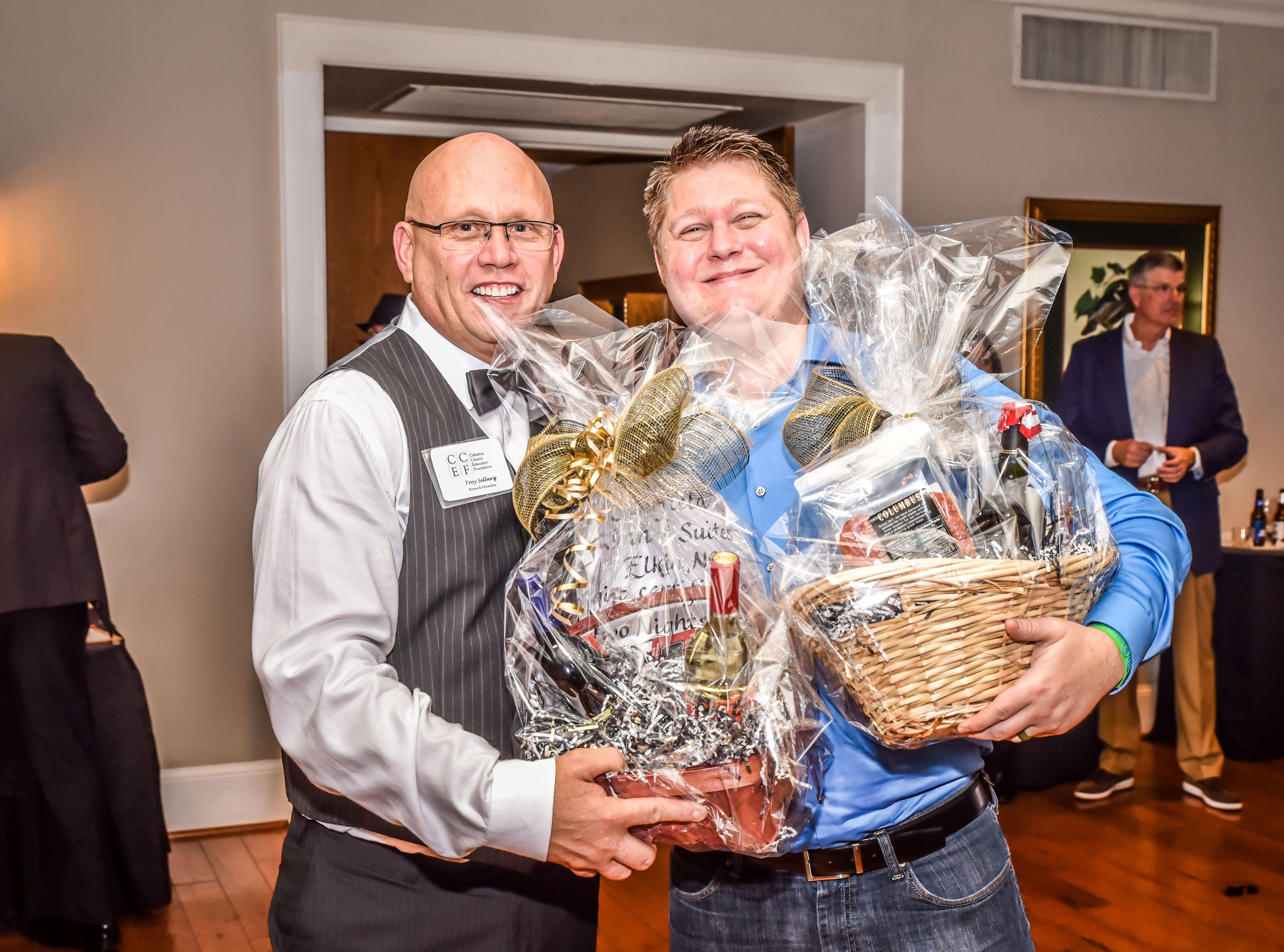 Wine Package Winner - Justin Fisher