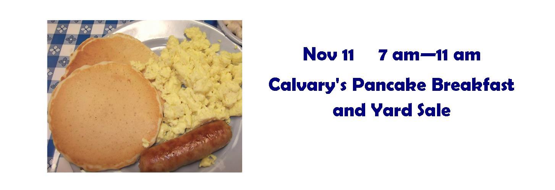 Calvary Pancake Breakfast