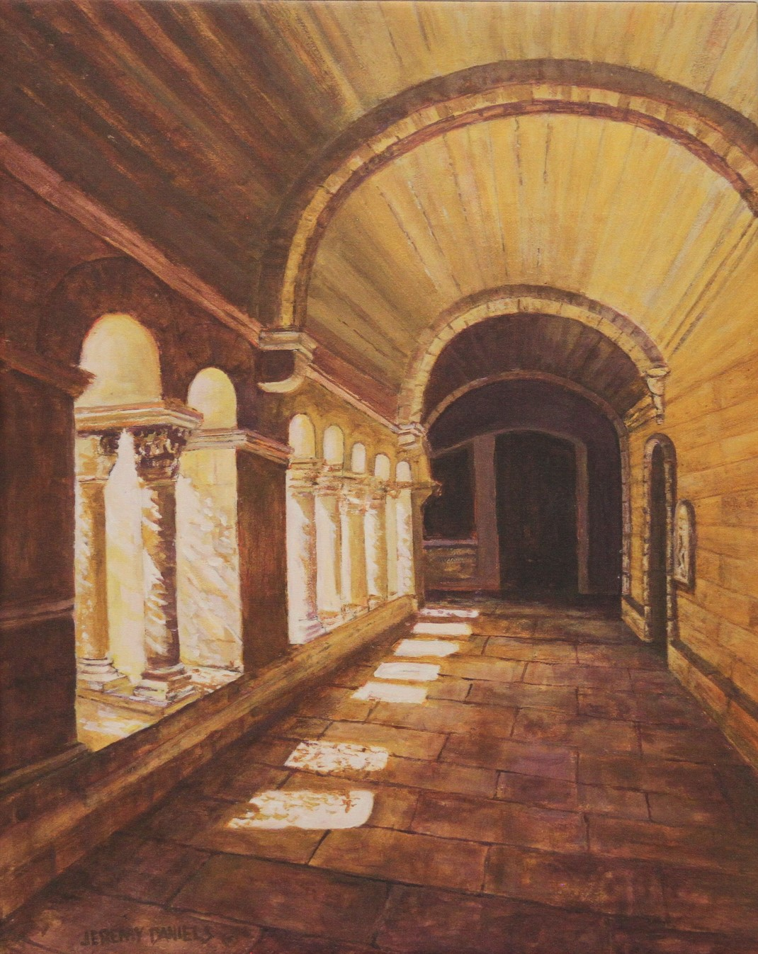 Cloister in Monastery Saint Paul de Mausole