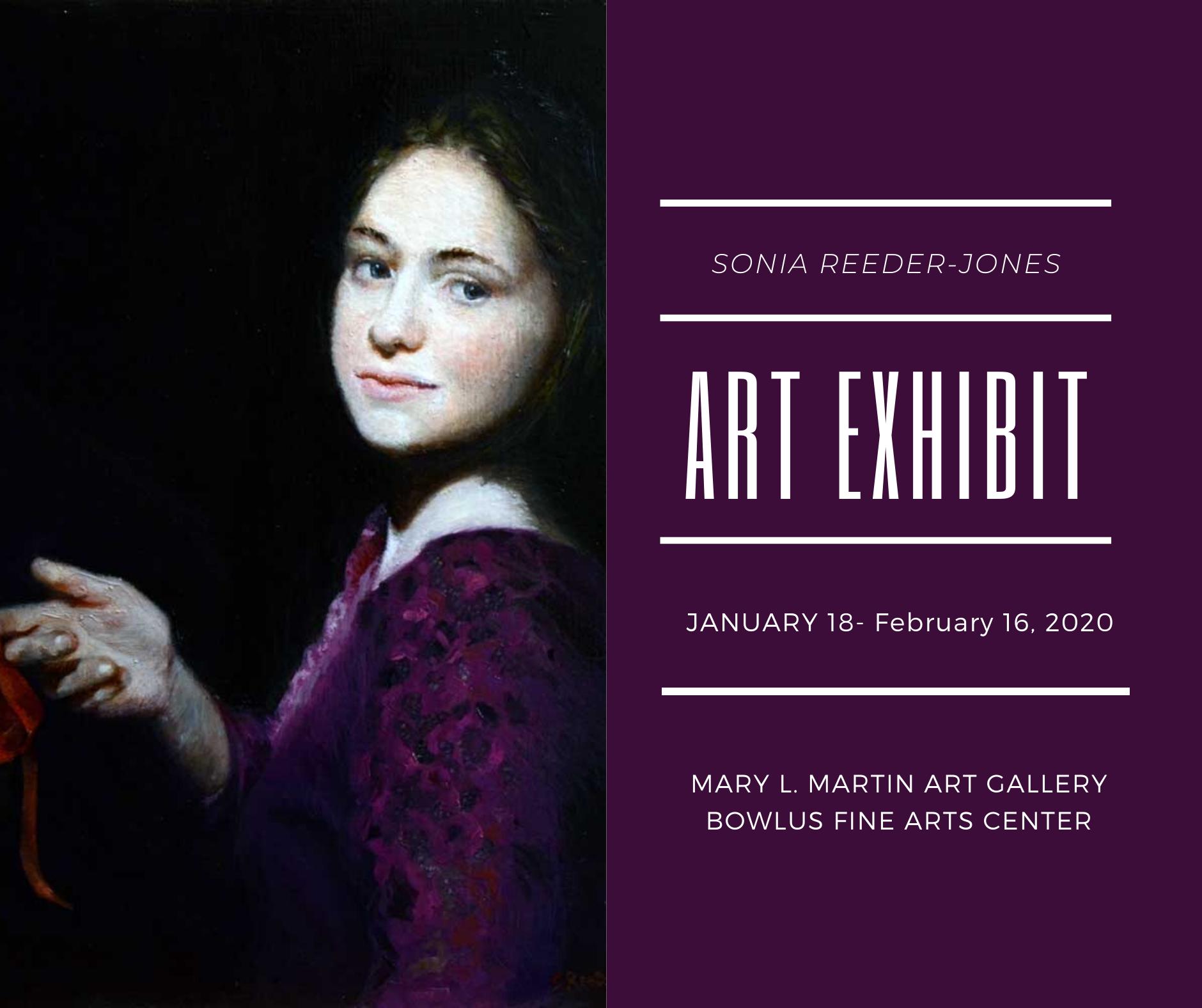 Sonia Reeder-Jones Art Exhibit
