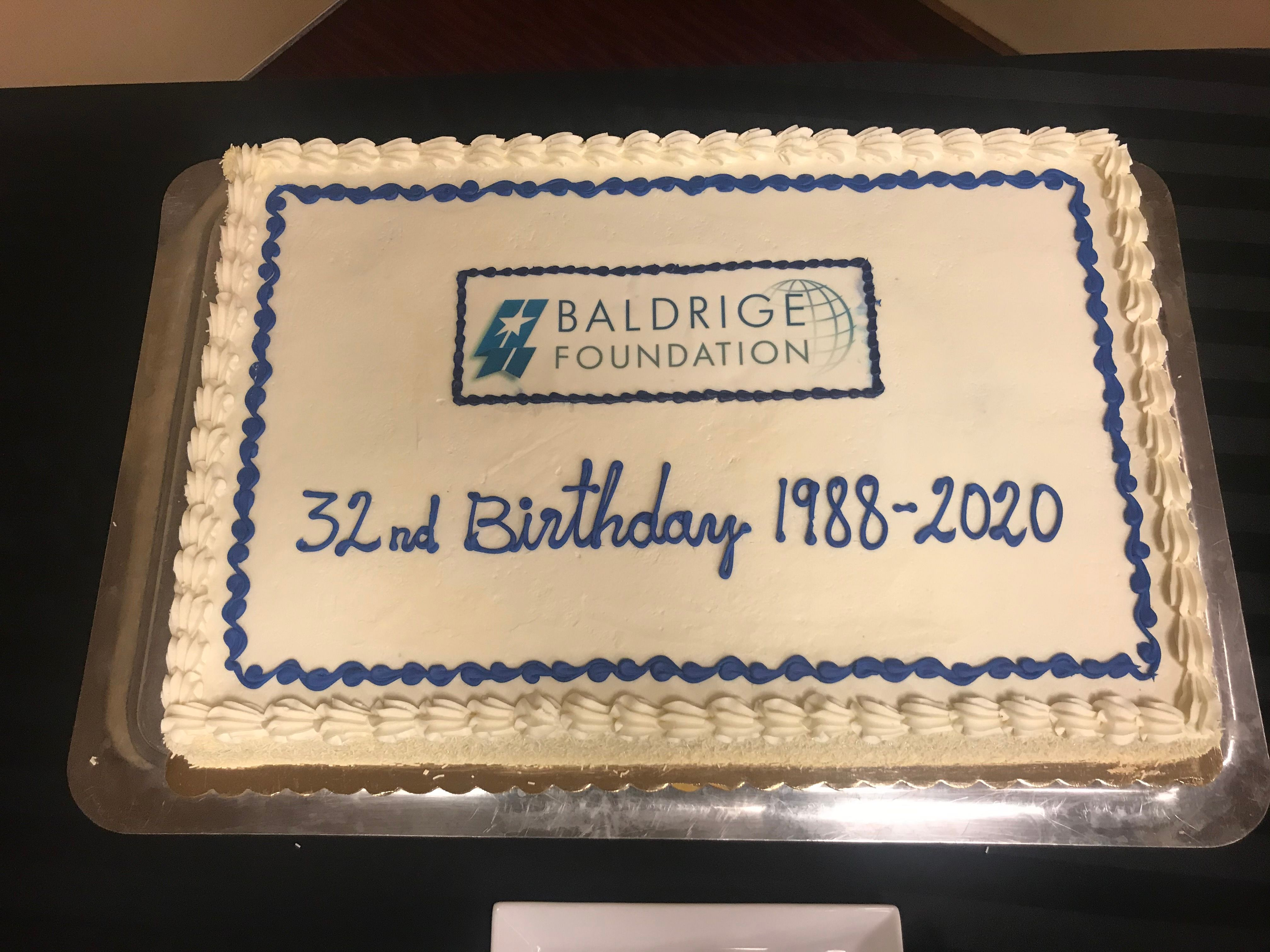 Baldrige Foundation Celebrates 32nd Anniversary of Its Founding