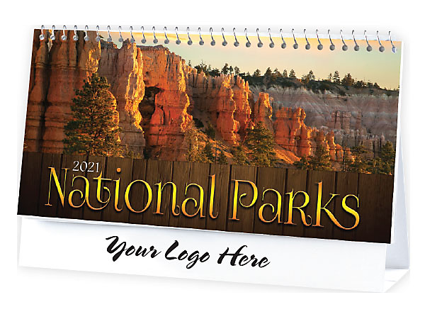 DESK CALENDAR - NATIONAL PARKS