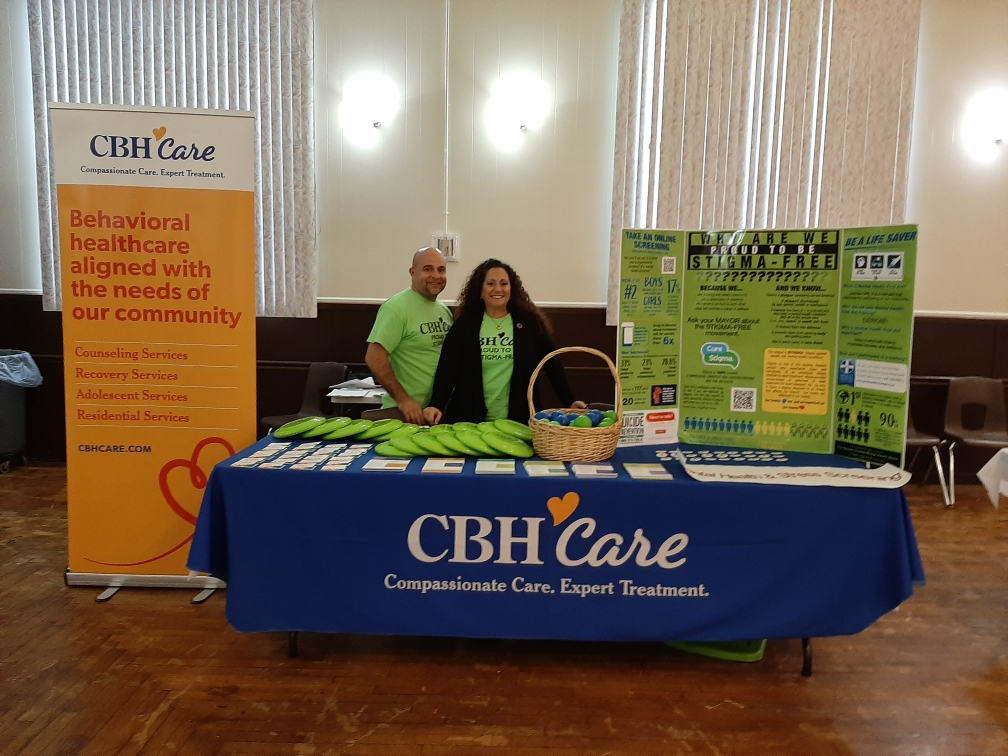 CBH Care Tables to Share Mental Health Information and Resources at 7th Annual Health Fair