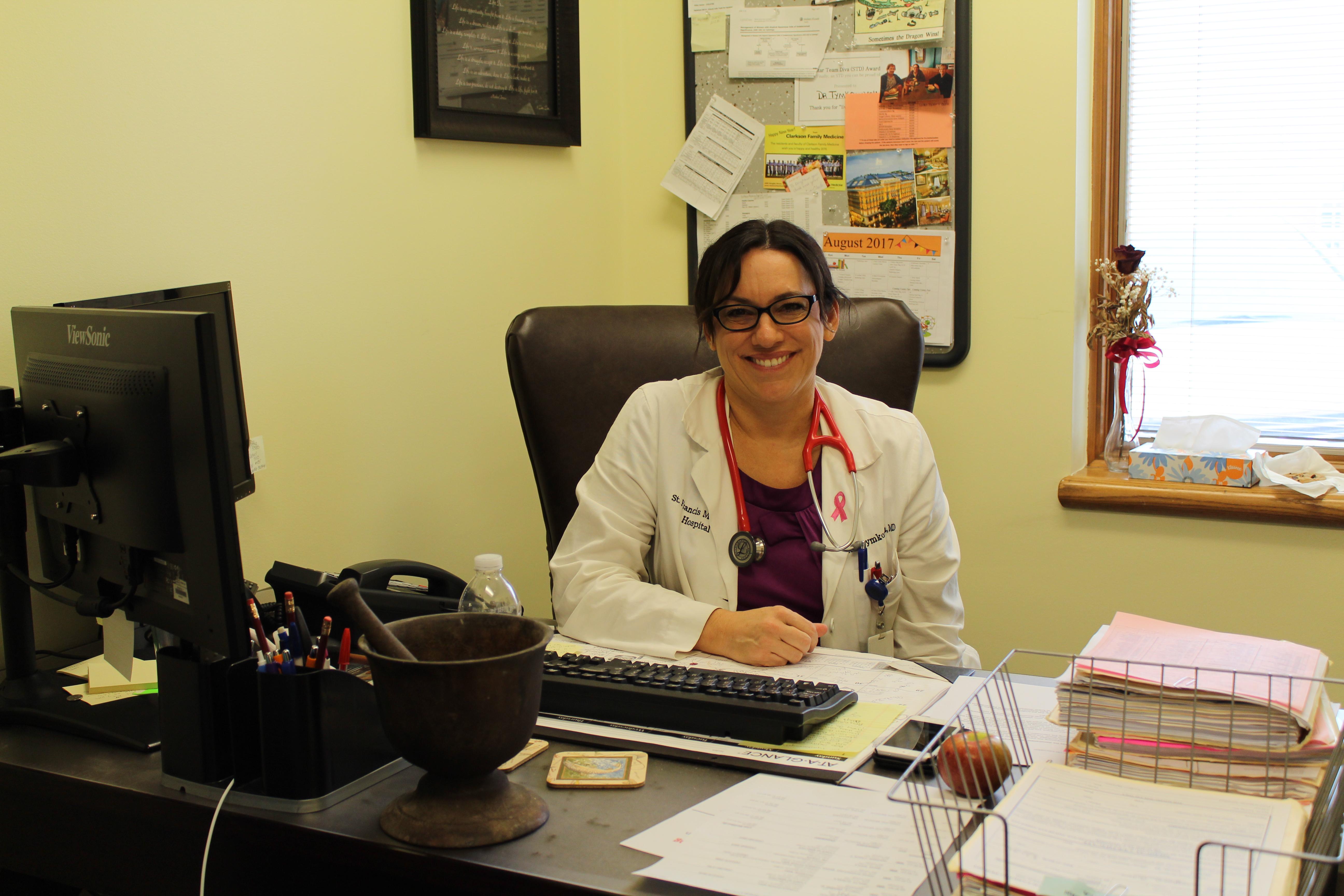 Dr. Natalie Tymkowych Says Goodbye to FCS