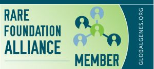 Rare Foundation Alliance Member badge - Globalgenes.org