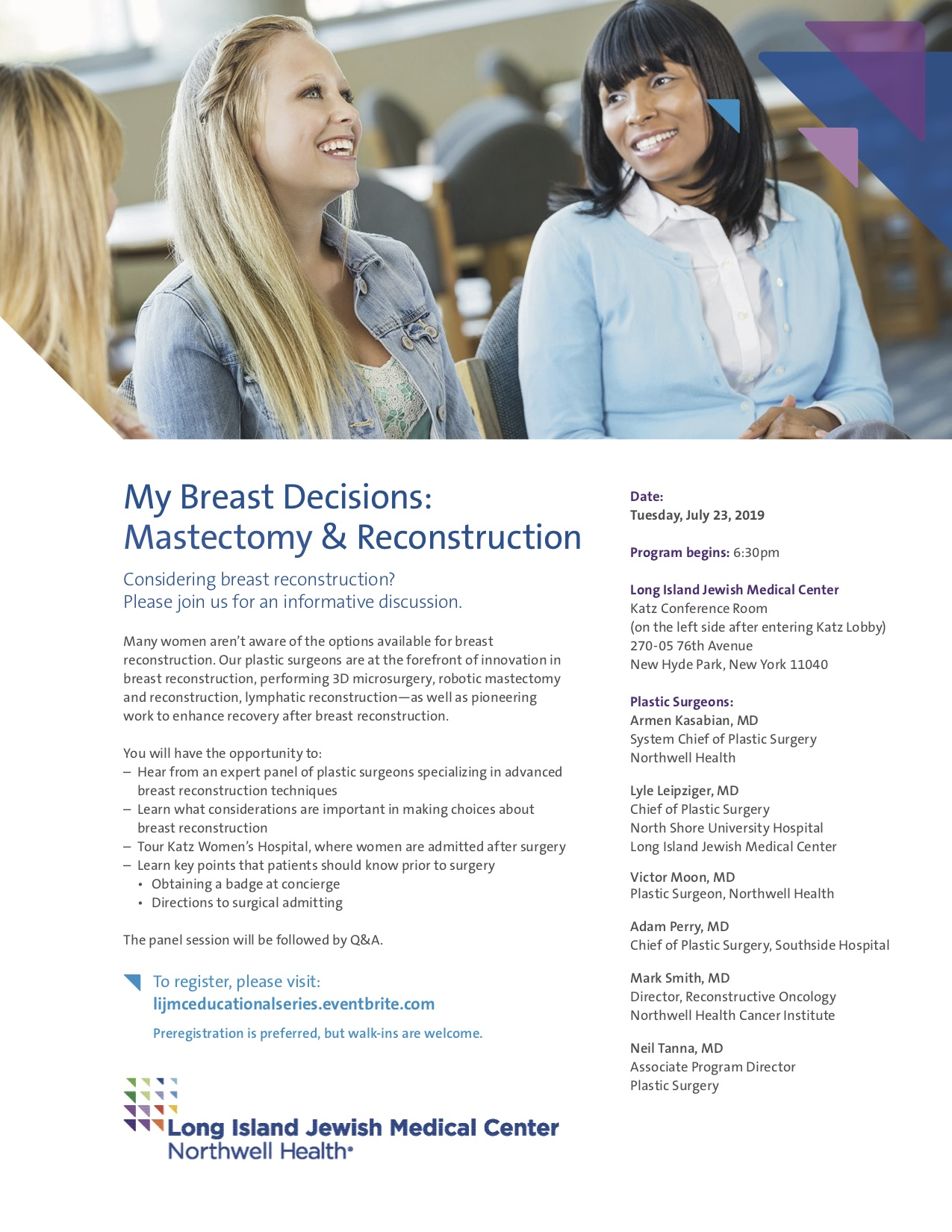 My Breast Decision: Mastectomy & Reconstruction