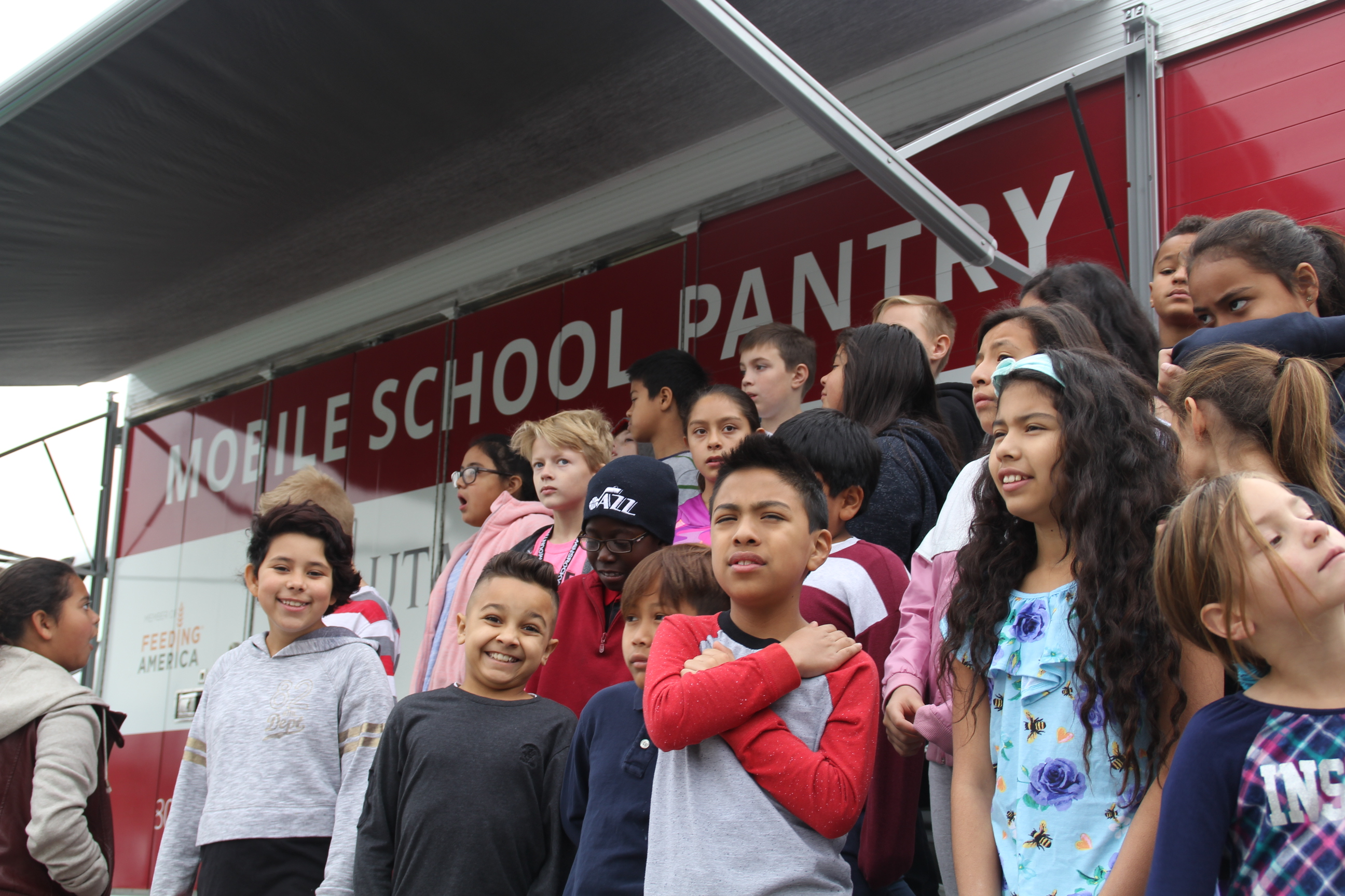 KUER: New Mobile Food Pantry to Stave Off Student Hunger