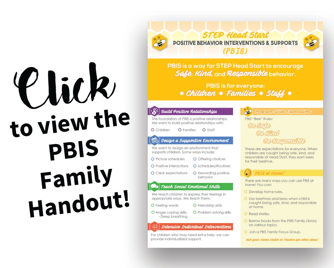 Click here to view the PBIS Family Handout!