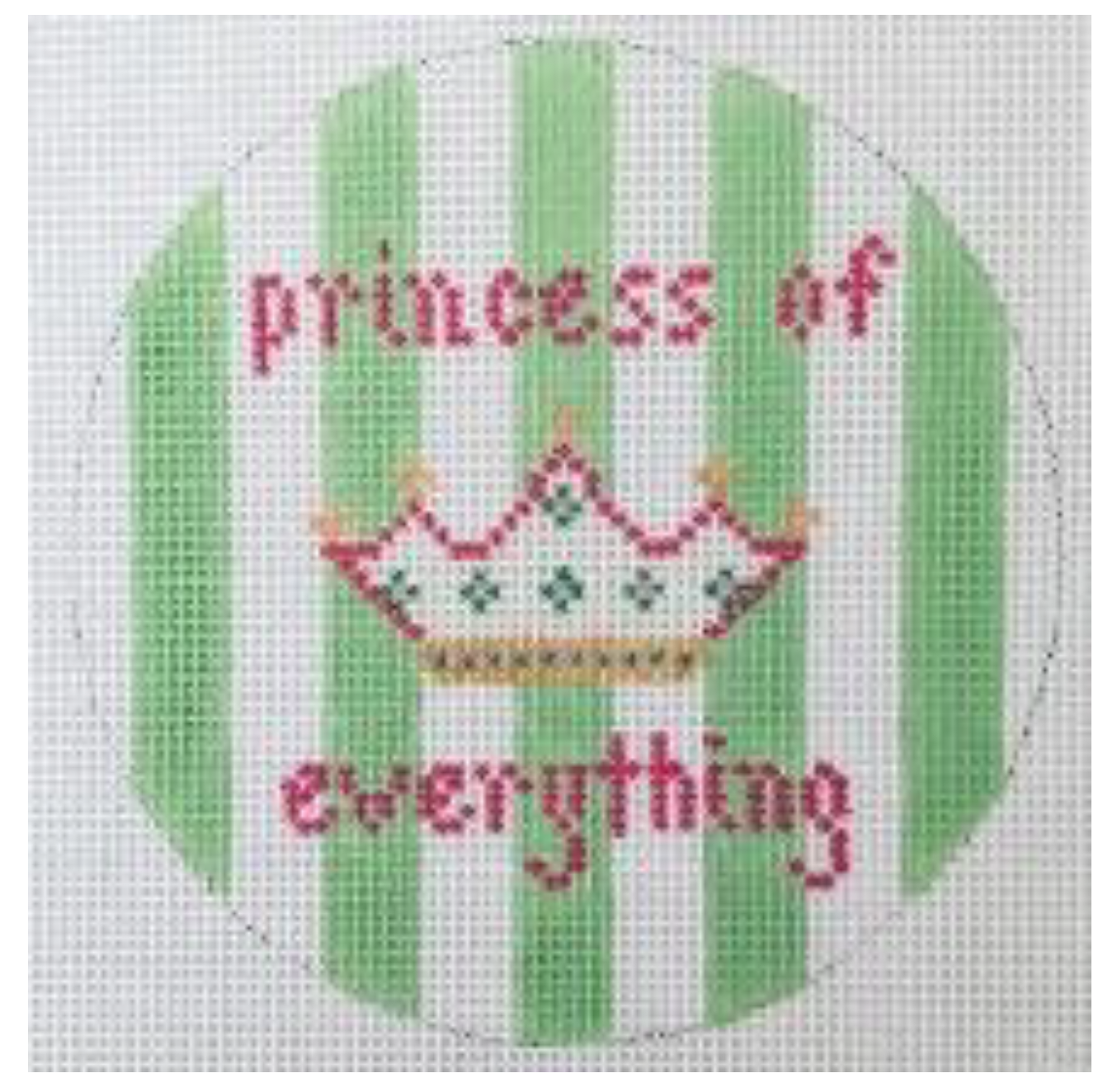 Princess of Everything - Green Stripes