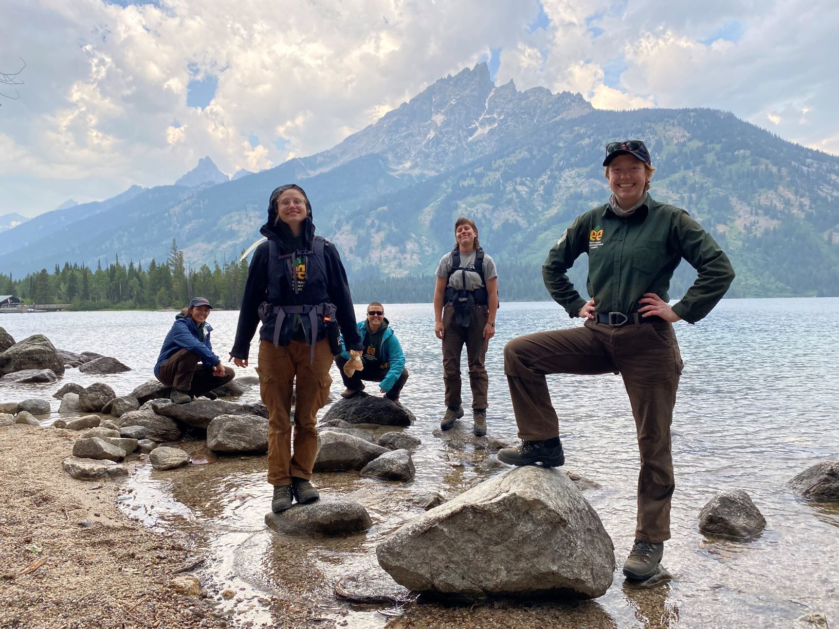 There Once Was A Crew At Grand Teton, a poem by Elizabeth Stone