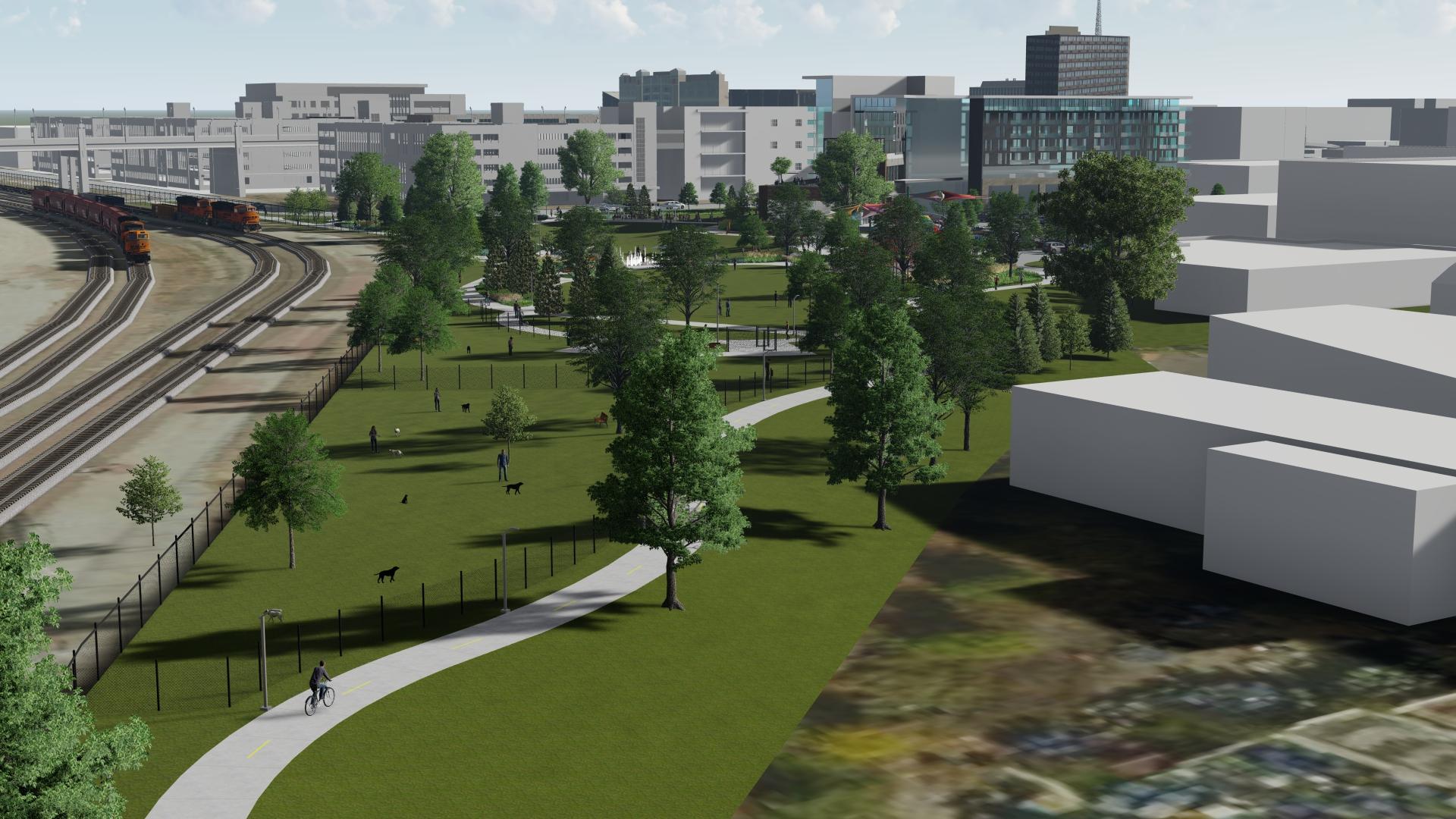 South Haymarket Park & Plaza Survey