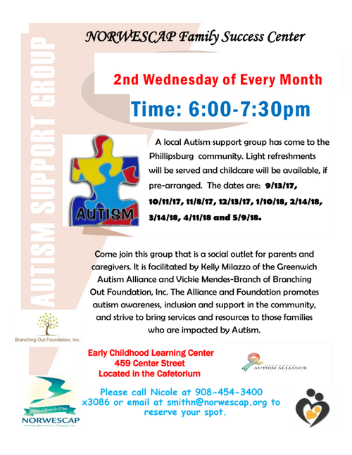 The Autism Support Group(Phillipsburg)