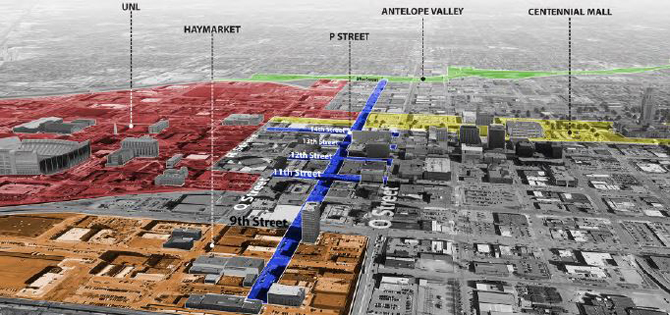 Downtown Lincoln Association Explore P Street District Project