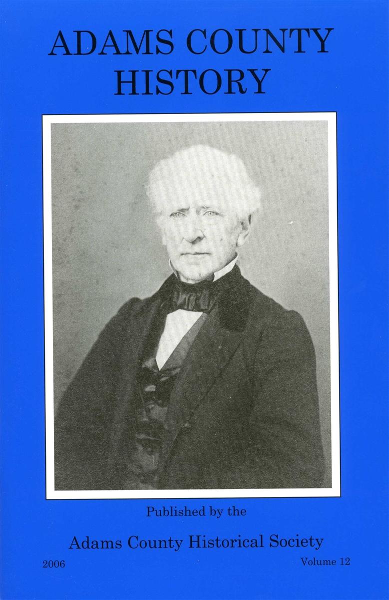 Adams County History Vol 12