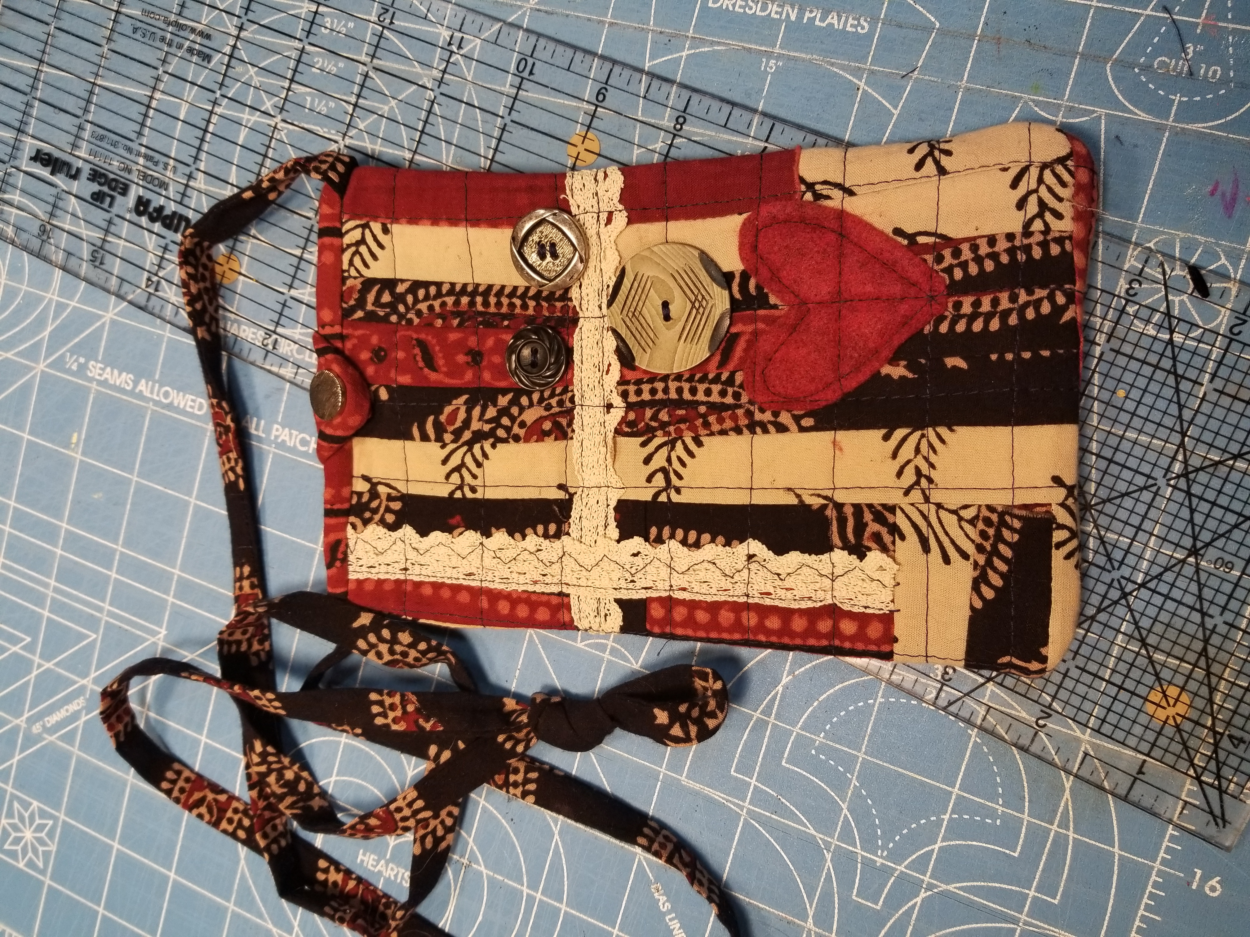 Quilting - Cross Body Bag 2 of 2