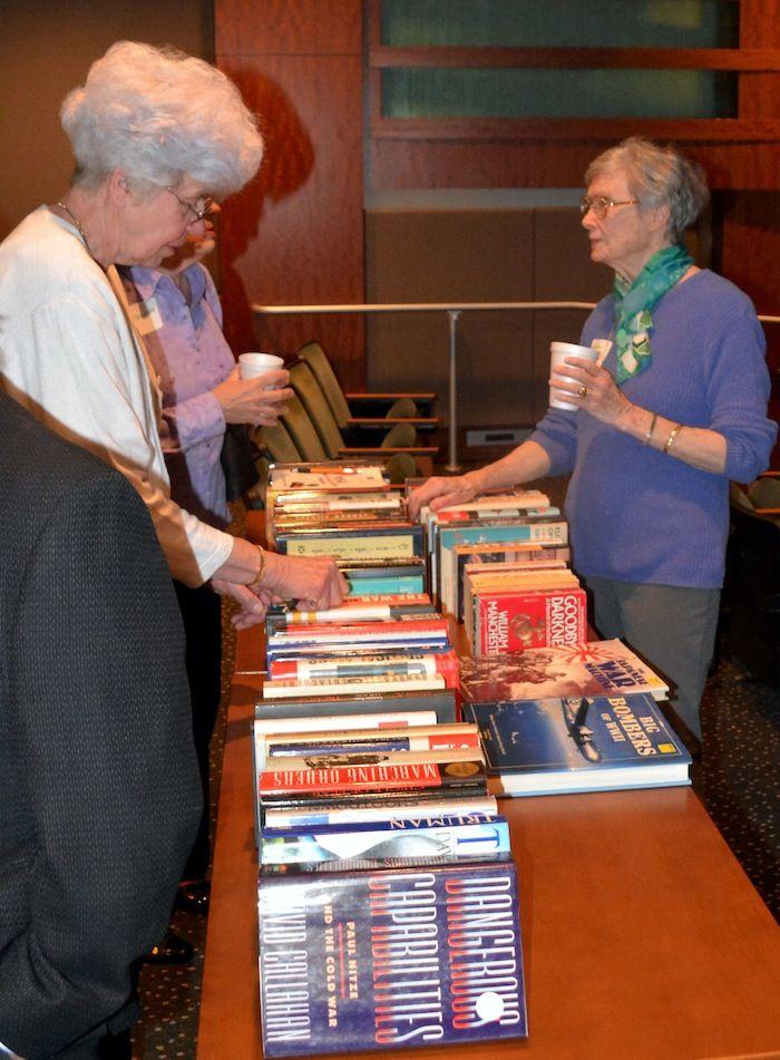 NCMF members love good books!