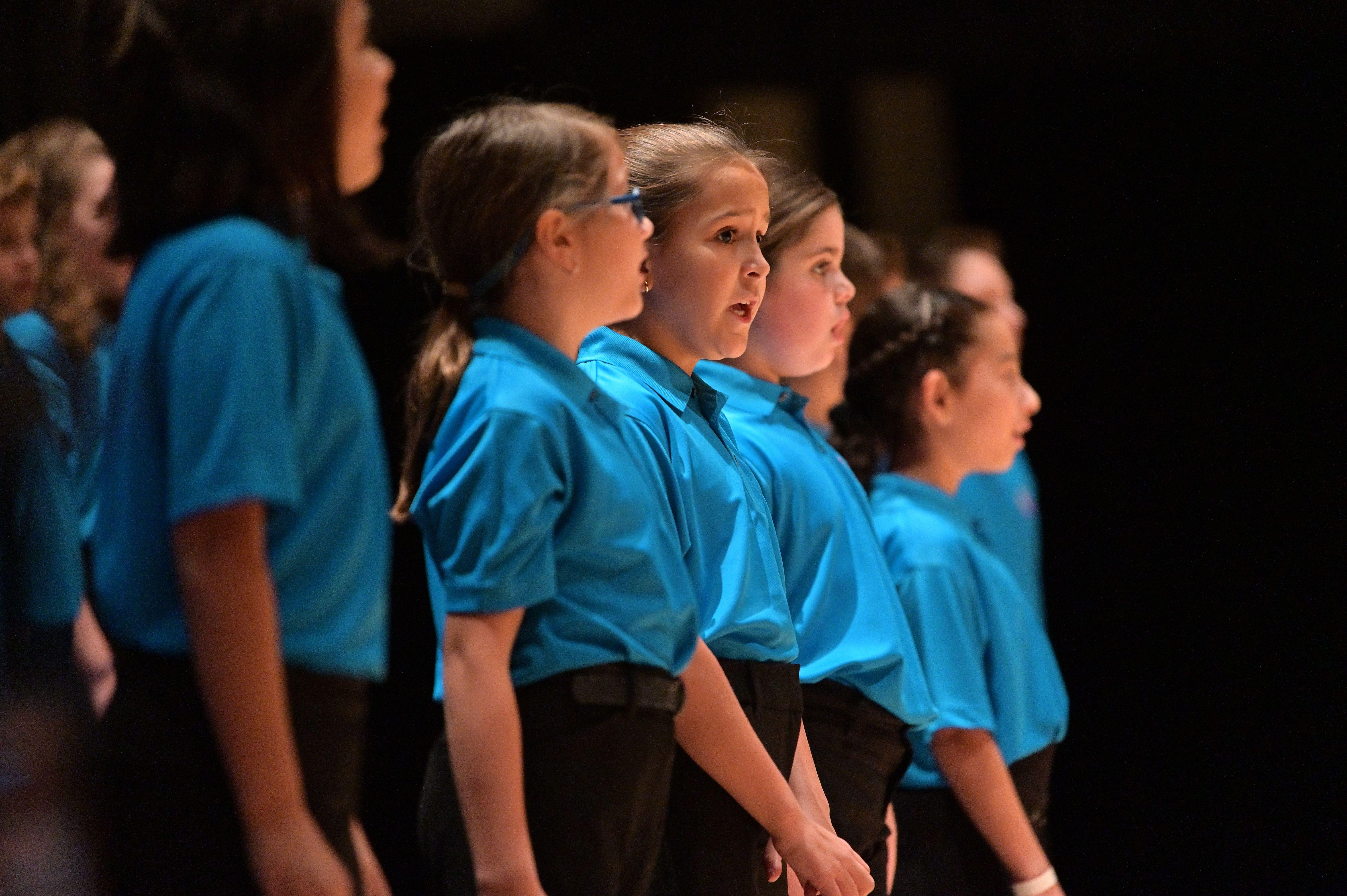 Behind the Scenes: Beginning Chorus