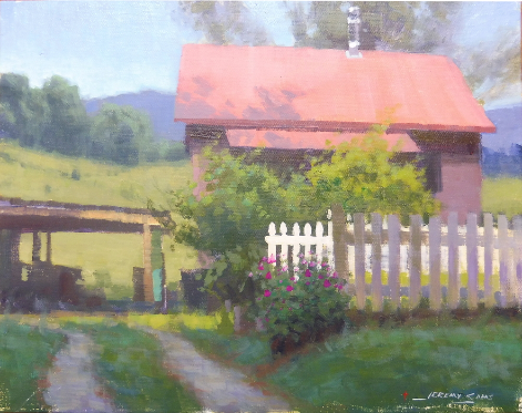 Acrylic Plein Air Painting Workshop with Jeremy Sams