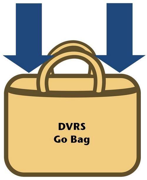DVRS Go Bag