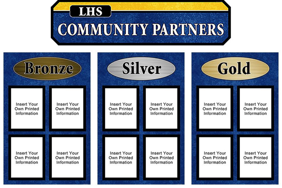 Community Partners Display Set