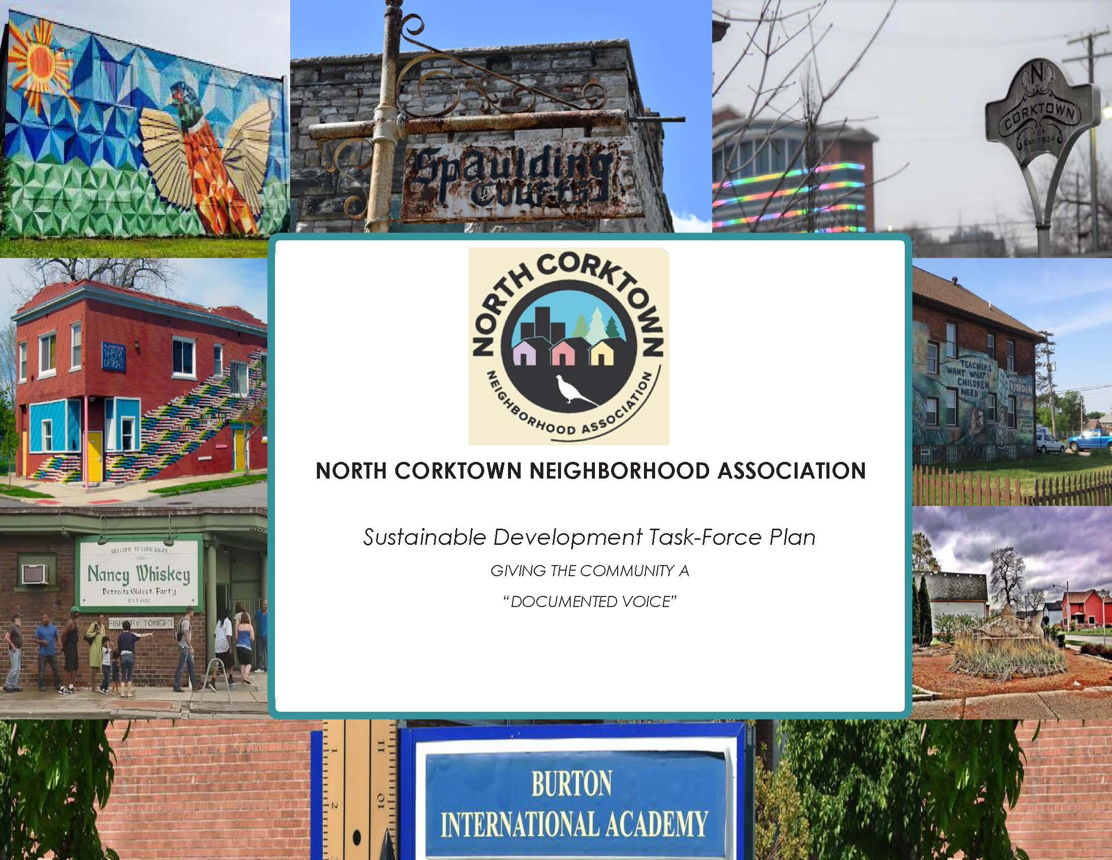 North Corktown Neighborhood Association Sustainable Development Task-Force Plan