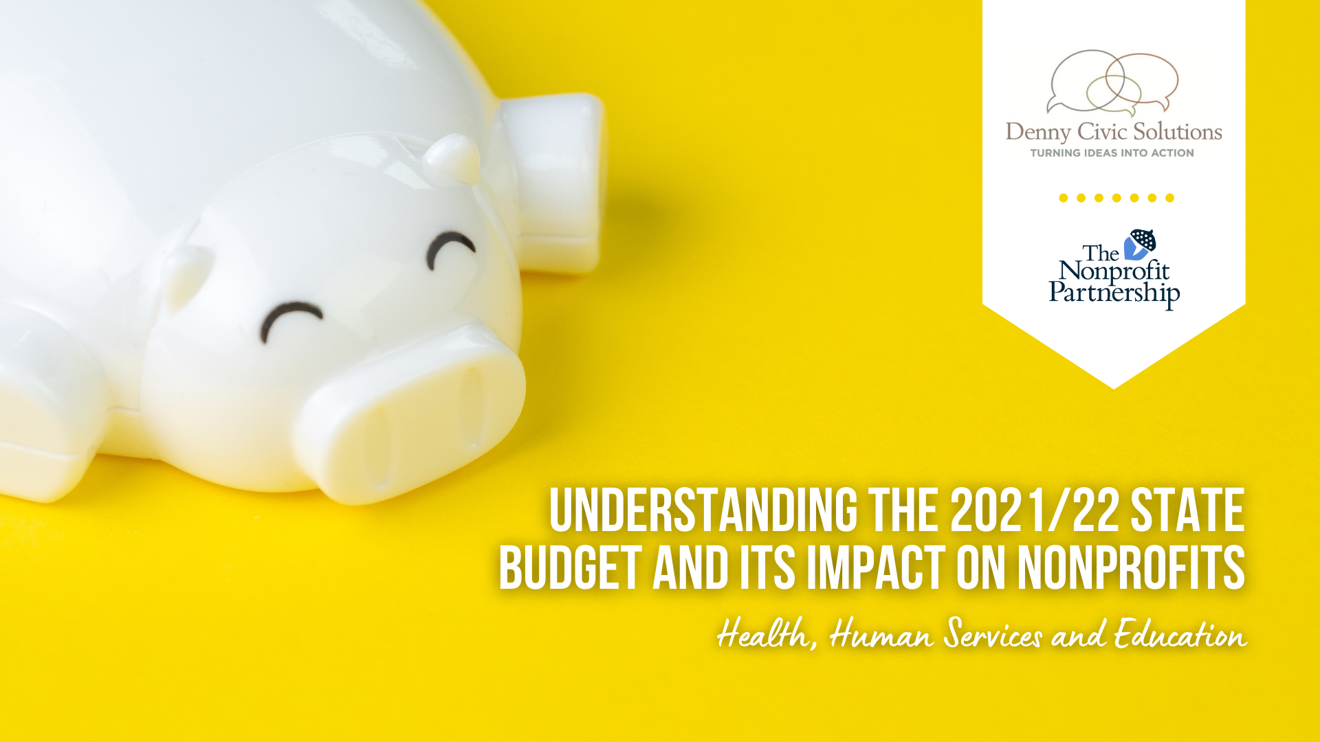 [Zoom Meeting] Understanding the 2021/22 State Budget and Its Impact on Nonprofits: Health, Human Services and Education