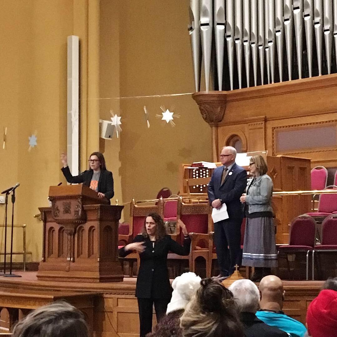 Governor Tim Walz and Lt. Gov. Peggy Flanagan