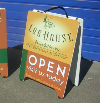A-Boards and Sandwich Signs