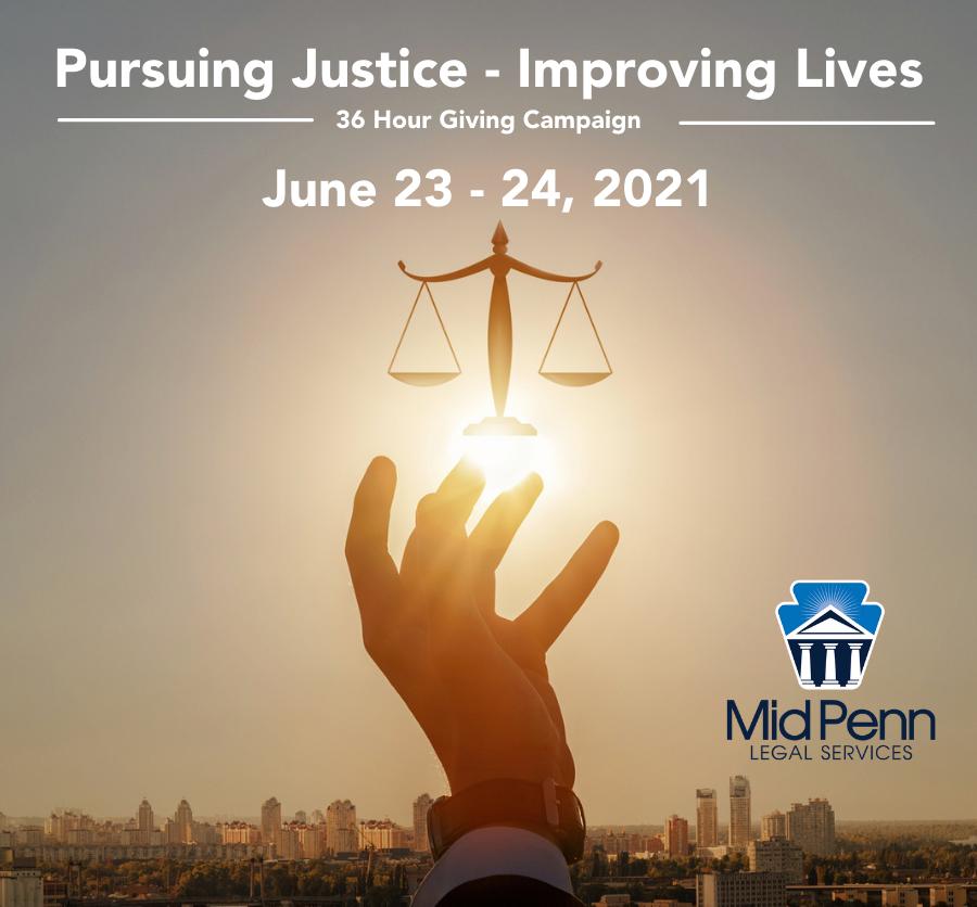 Pursuing Justice - Improving Lives