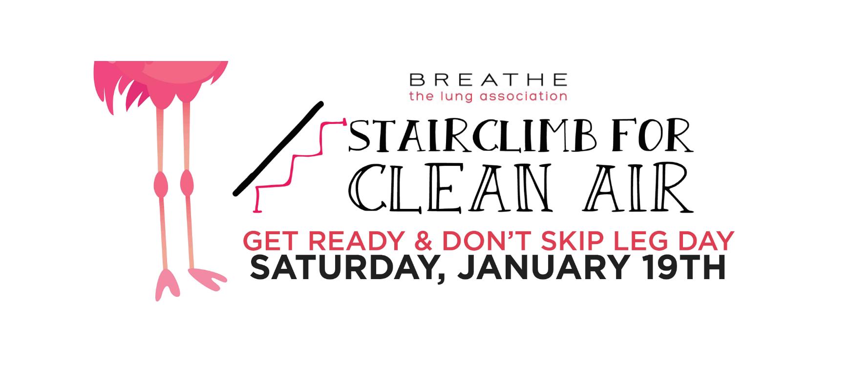 Stair Climb for Clean Air 2019