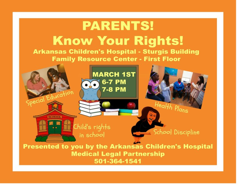 Parents! Know Your Rights!