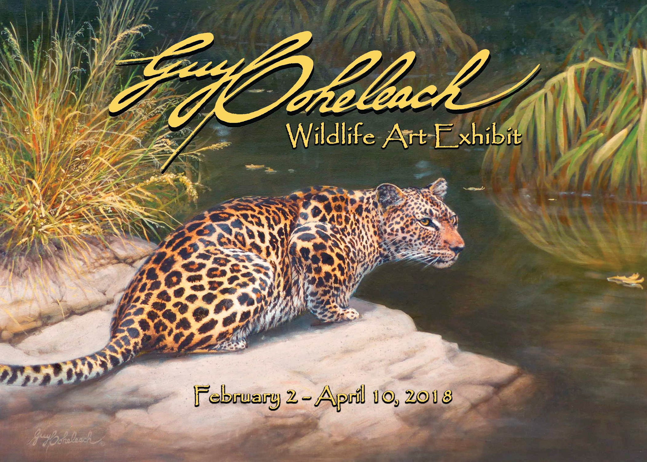 Guy Coheleach Wildlife Art Exshibit